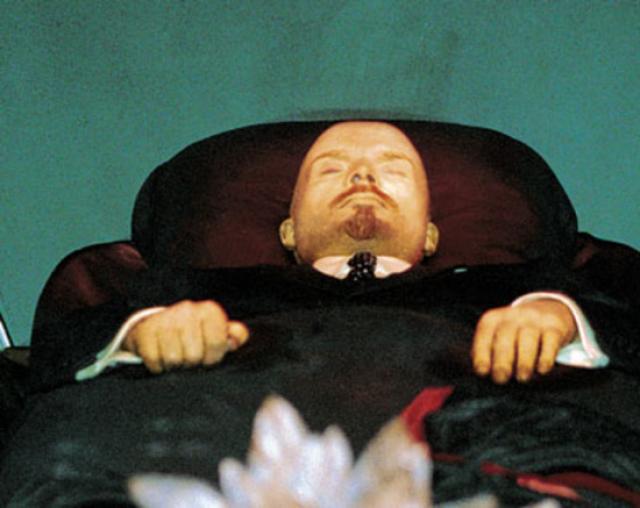 фото в мавзолее