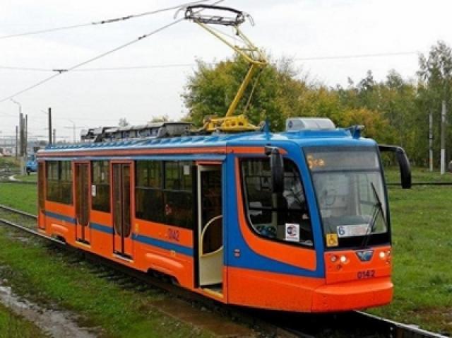 Трамвай в Набережных Челнах
