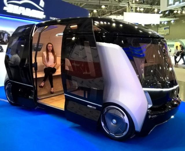 В 2018-ом в Российской Федерации появятся беспилотные автобусы