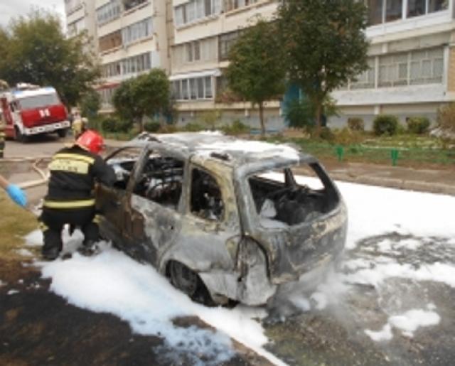 ВНабережных Челнах мужчина поджег себя вавтомобиле