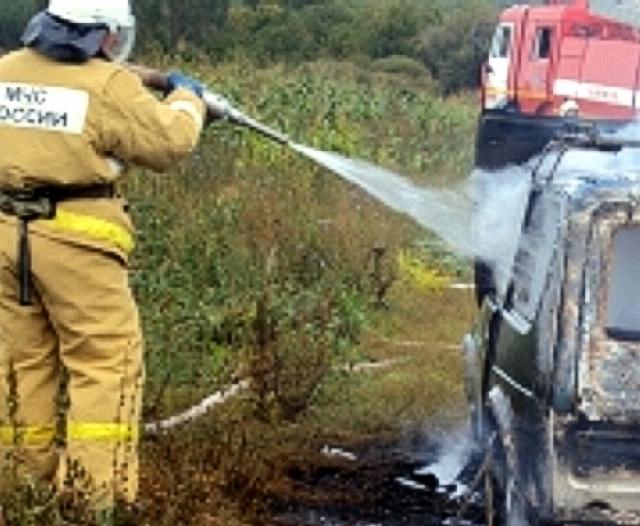 ВНабережных Челнах задержали троих поджигателей машин