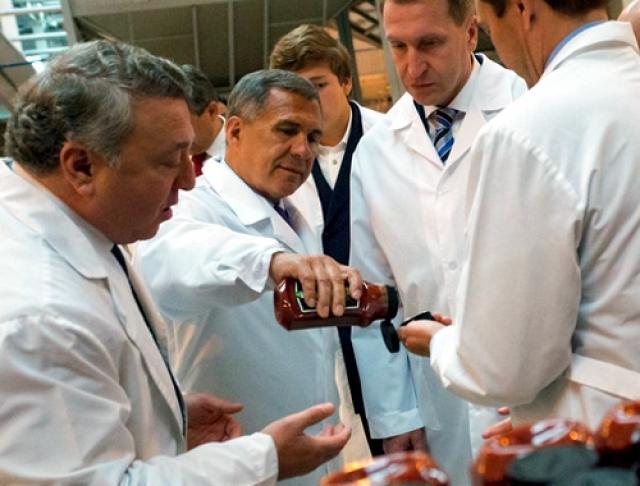 ВРФ запустили первое производство товаров с национальным знаком качества