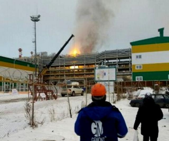 Пожар настроящемся заводе ТАИФ-НК вТатарстане потушен