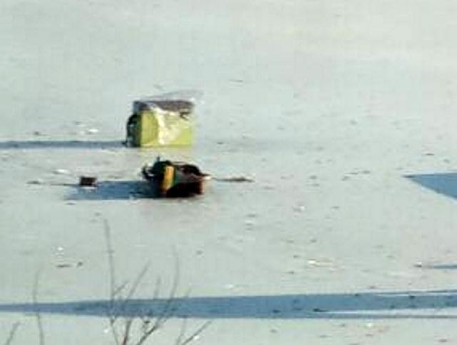 70-летний житель россии вмерз влед нарыбалке
