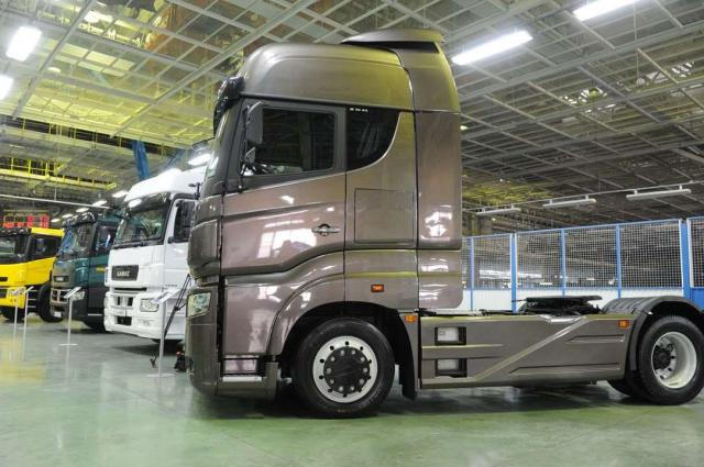 КАМАЗ за10 месяцев увеличил долю на русском рынке фургонов