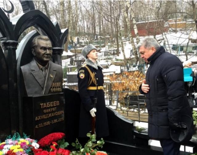 В столицеРФ открыли монумент Фикряту Табееву