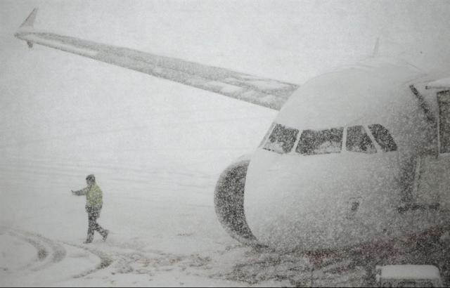 Аэрофлот отменил несколько рейсов из-за непогоды