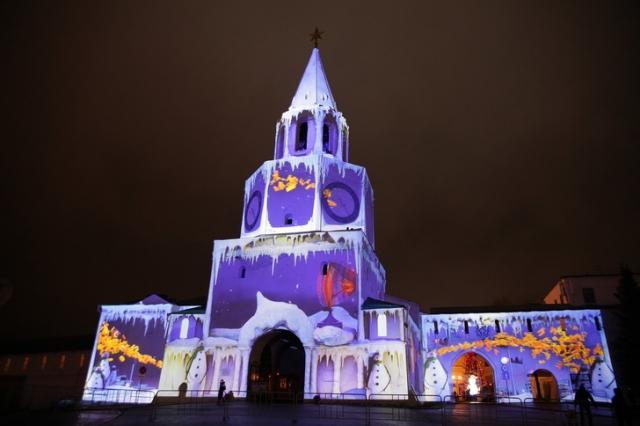 Шоу «Полетели вНовый год» покажут настенах Казанского кремля
