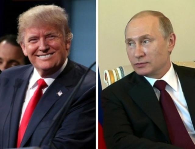 Сегодня Путин иТрамп поговорят потелефону