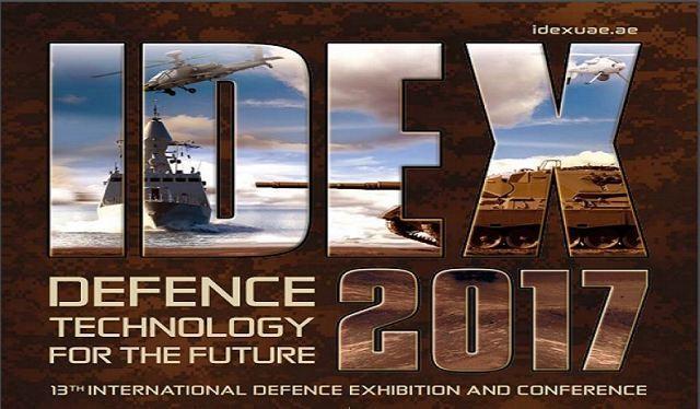 ВАбу-Даби открывается выставка военной техники ивооружений IDEX