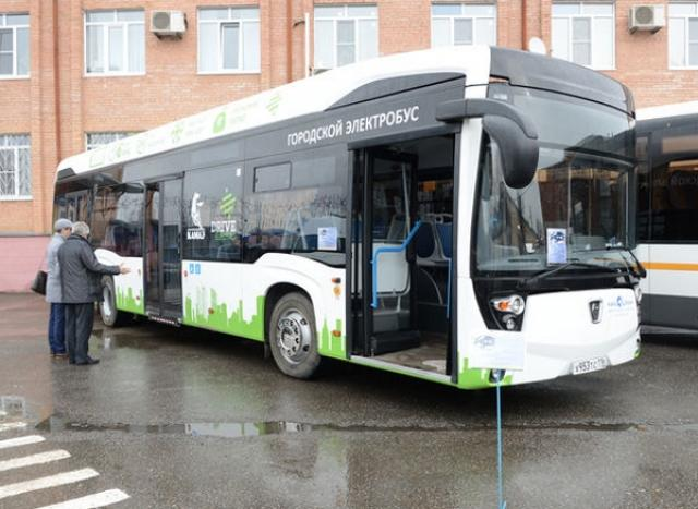 Новый электробус КАМАЗа может заряжаться всего за15 мин.