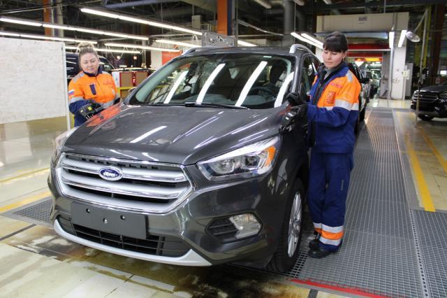 Форд модернизировал производство насвоем заводе в РФ