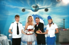 Пилот в белом