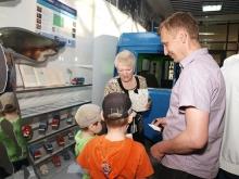 В музее истории города хозяйничали дети