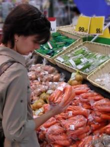 Овощи в магазинной упаковке весили в 2 раза больше