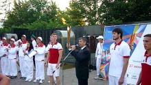 Набережные Челны встретили Огонь Универсиады-2013