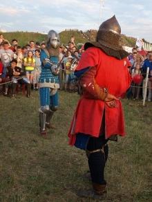 Рыцарские схватки на Дне молодежи