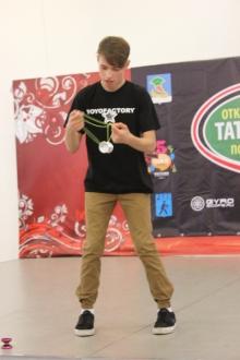 В Набережных Челнах завершился Открытый кубок Татарстана по игре в йо-йо