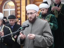 Главный муфтий Татарстана открыл в Набережных Челнах новую мечеть