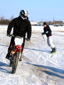 Тюбинг, скейтборд, горные лыжи