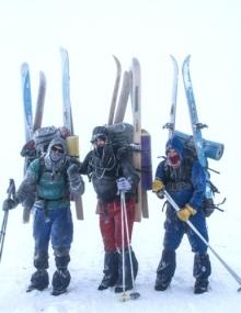 Лыжный поход Алексея Болотова