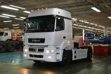 'КАМАЗ' отзывает около 40 новых магистральных тягачей