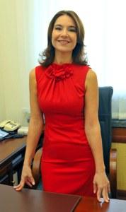 Альфия Когогина внимательно следит за конкурсом «Лучший детский врач-2014»