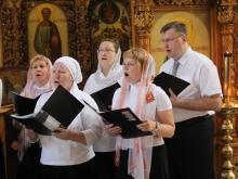 Церковные песнопения и народные мелодии