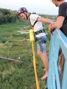 Экстремальное увлечение челнинцев - rope jumping