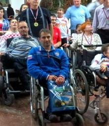 Челнинец Станислав Михеев стал лучшим среди колясочников