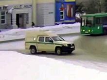 Опубликовано видео, как инкассатор скрывается в Зеленодольске с места преступления