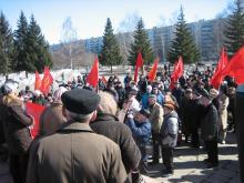 В Набережных Челнах состоялся митинг «Коммунистов России»