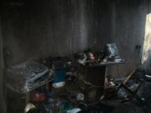 В Набережных Челнах в пожаре в 46 комплексе пострадали два человека