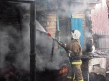 Вблизи Набережных Челнов полностью сгорел частный дом