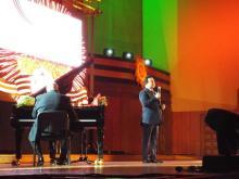 Сергей Когогин спел для ветеранов