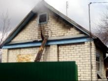 Под Набережными Челнами сгорели частный дом и дача