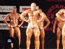 Дмитрий Агафонов стал третьим на чемпионате по культуризму