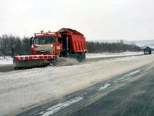 Трассу М-7 очистили от снега быстрее, чем городские дороги в Набережных Челнах