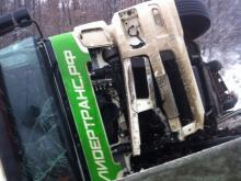 Дальнобойщик из Набережных Челнов за рулем нового 'КАМАЗа' устроил ДТП на трассе М-5