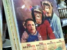 Скандальные доски с Обамой в 'Бэхетле': производитель скачал фото из интернета