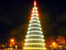 Городская елка на площади Азатлык открывается 25 декабря