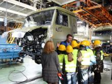'КАМАЗ' разрабатывает туристический маршрут по своим заводам
