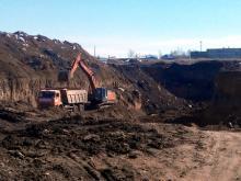 Возбуждено уголовное дело по факту незаконной добычи глины на 22 миллиона рублей