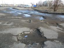 'Вместе с народом': у ГИБДД и Предприятия автодорог такие же разбитые дороги...