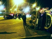 Серьезное ДТП с участием 'БМВ' и грузовой 'Газели' произошло на проспекте Сююмбике