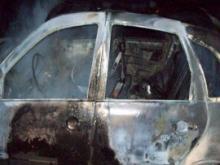 Челнинские инспекторы ищут владельца сгоревшего 1 мая автомобиля в поселке Замелекесье