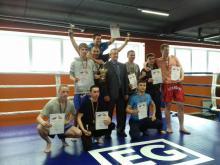 Челнинские кикбоксеры одолели соседей из Нижнекамска и Альметьевска на открытом городском турнире