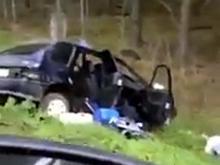 Огромная автопробка на трассе М-7 возникла после аварии с участием 3 машин