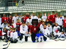 Международный Индивидуальный Хоккейный лагерь открывается в Сочи