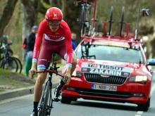 Ильнур Закарин поднялся на шестое место на велогонке «Джиро д Италия»